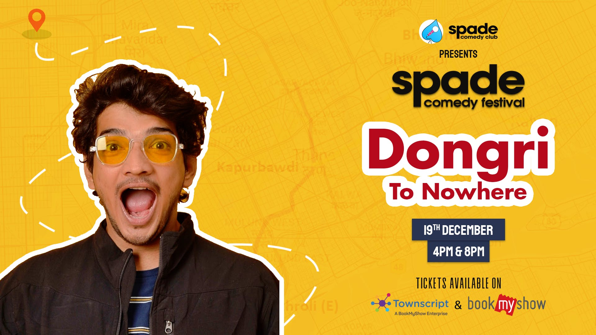 Dongri To Nowhere by Munawar Faruqui at Spade Comedy Festival
