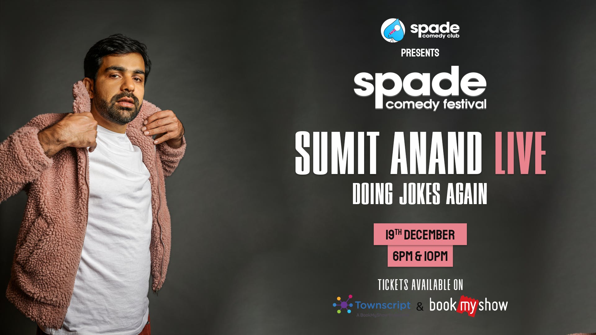 Sumit Anand : Doing Jokes Again at Spade Comedy Festival