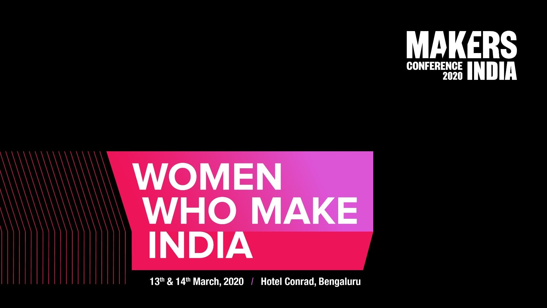MAKERS India Conference 2020