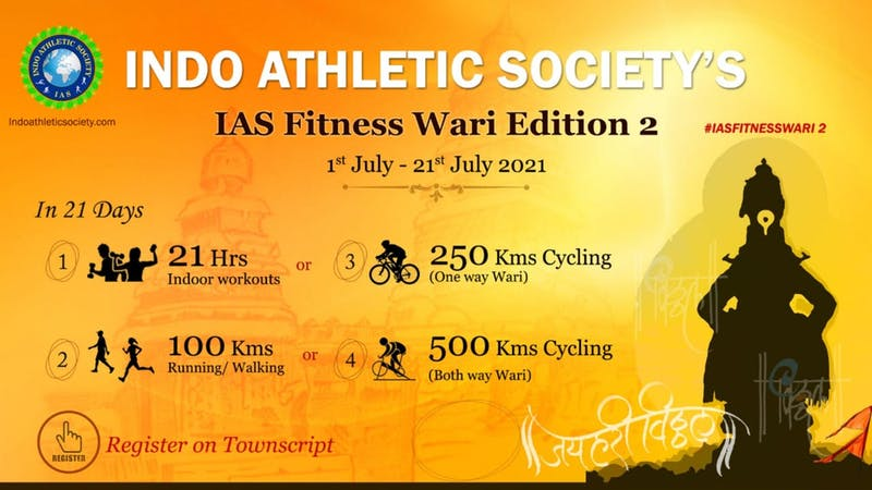 IAS Fitness Wari 2021