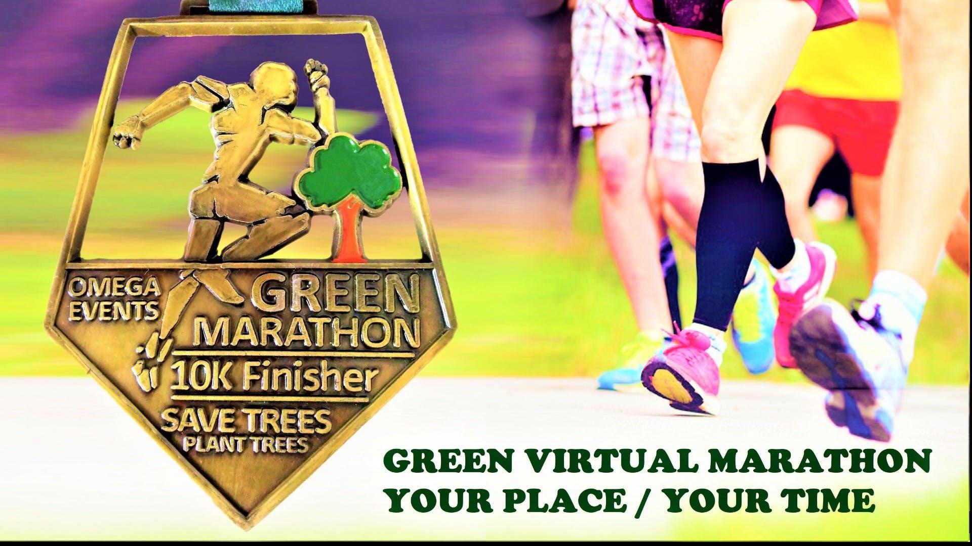 Green Virtual Marathon – Get India's Biggest Medal