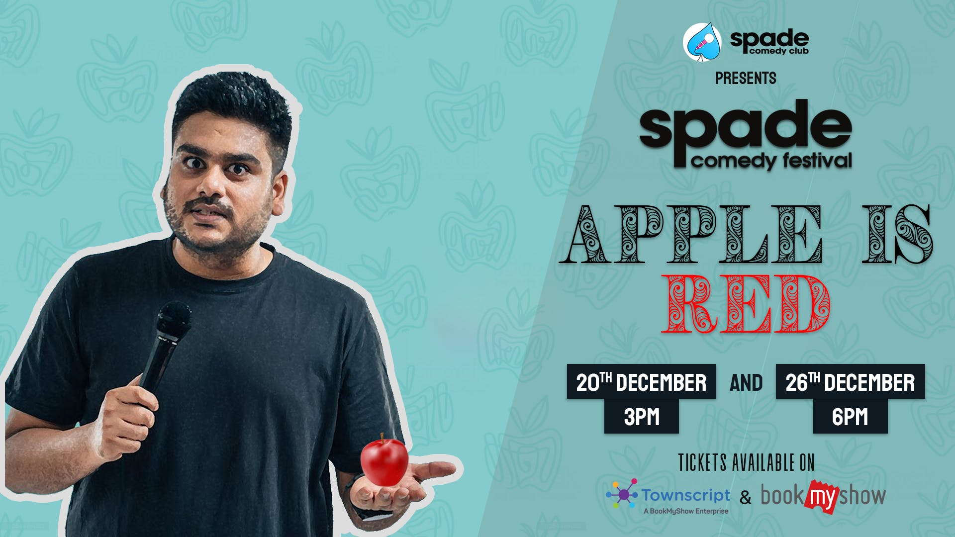 Apple Is Red by Vaibhav Sethia at Spade Comedy Festival