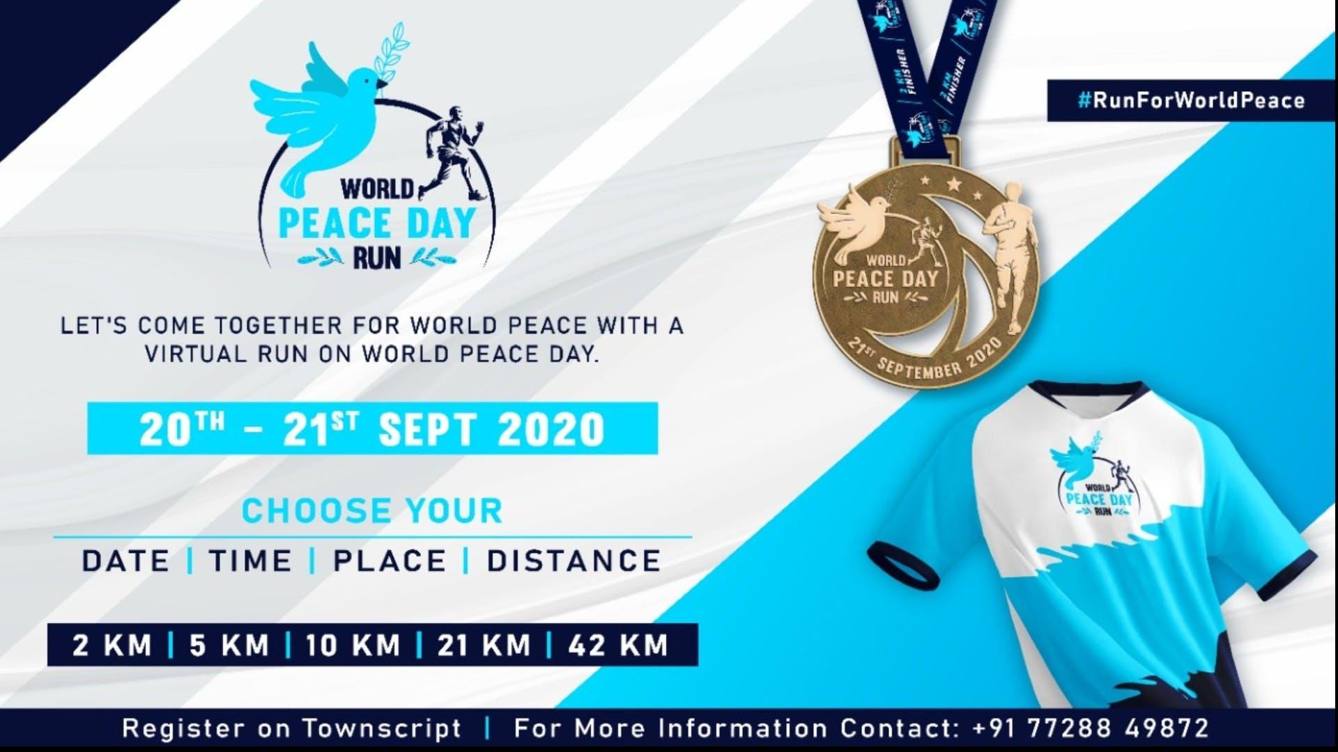 World Peace Day Run