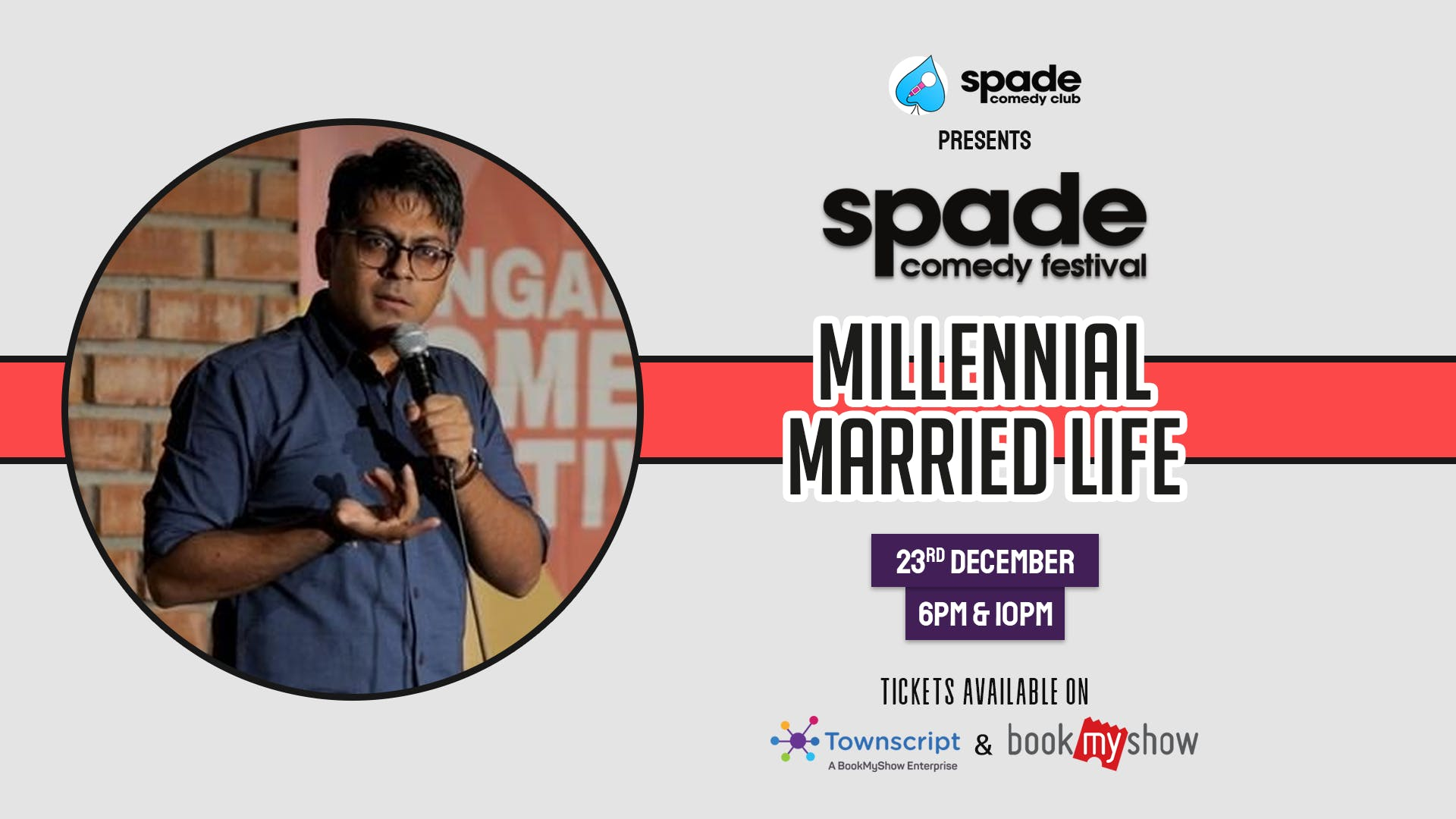 Millennial Married Life by Abijit Ganguly at Spade Comedy Festival