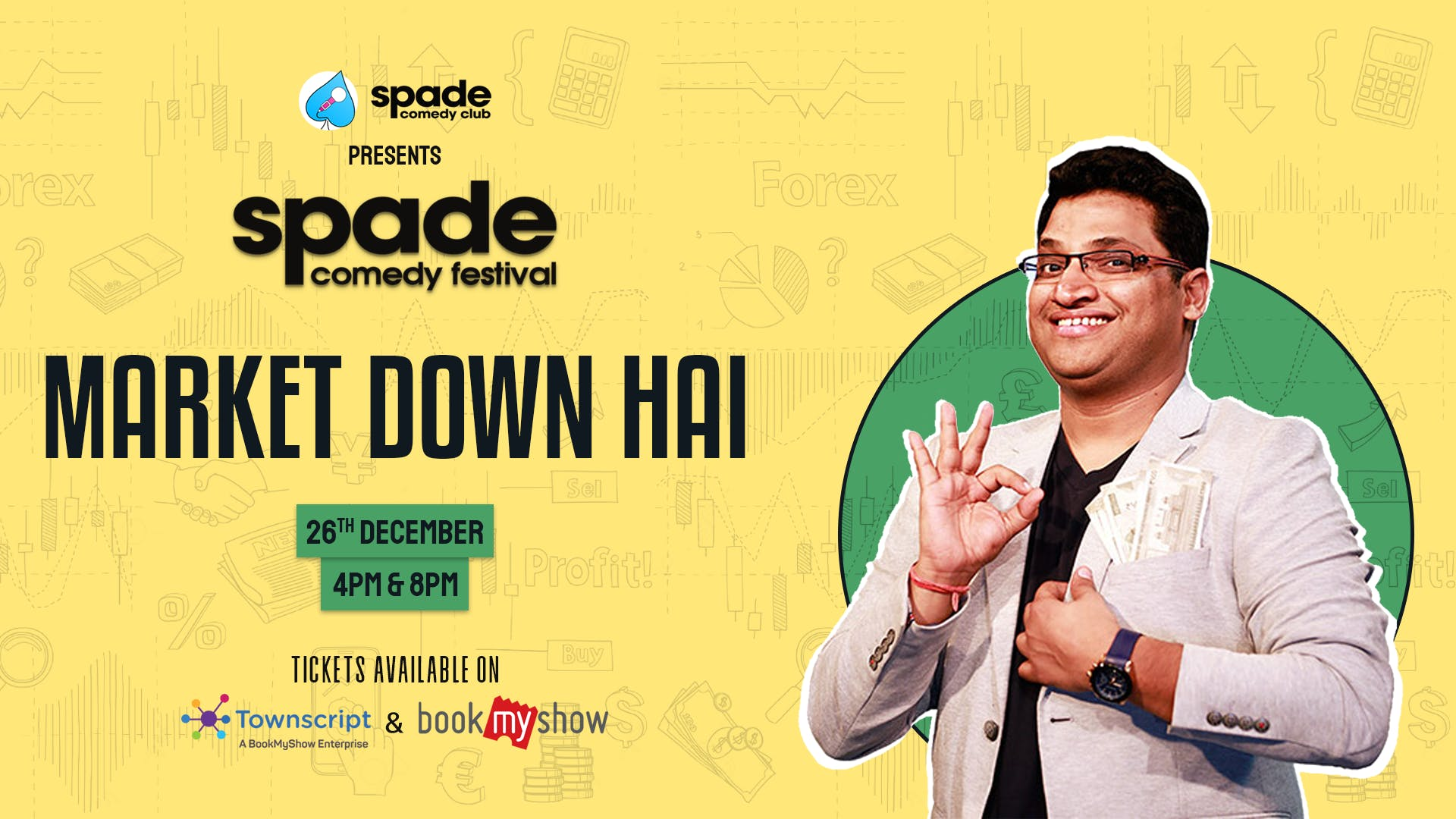 Market Down Hai by Gaurav Gupta at Spade Comedy Festival