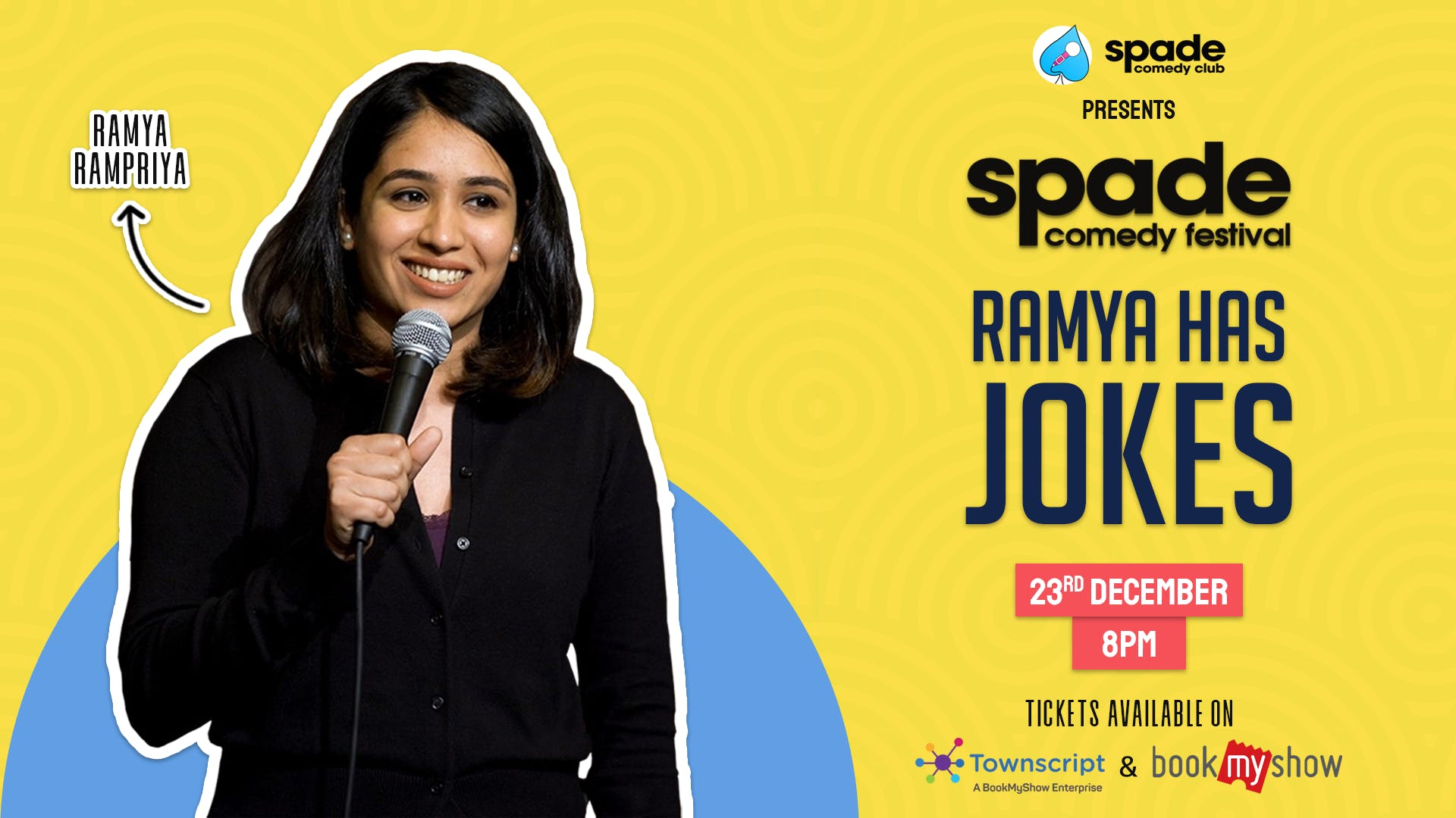 Ramya Has Jokes by Ramya Ramapriya at Spade Comedy Festival