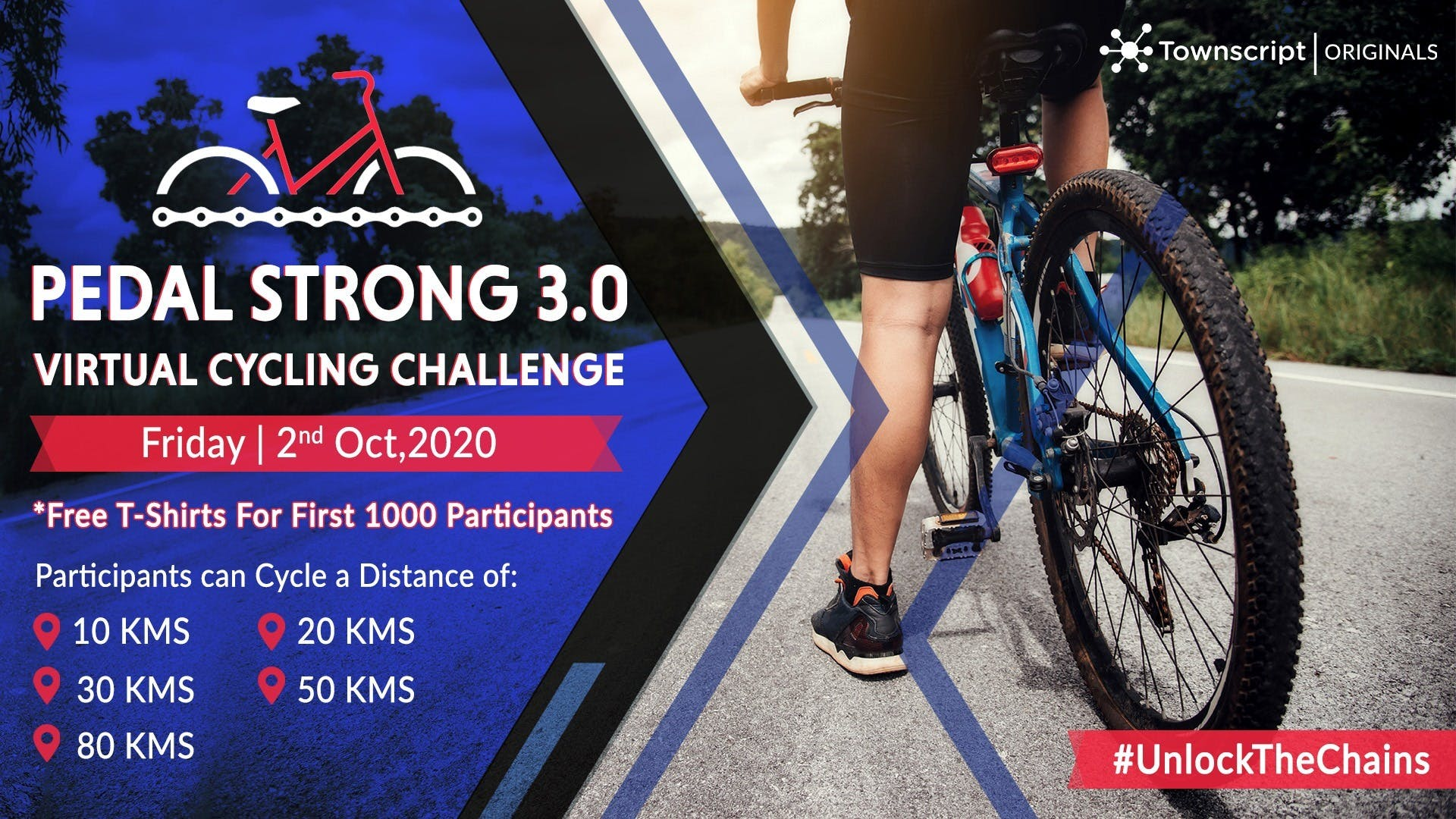 Pedal Strong 3.0 – Virtual Cycling Challenge
