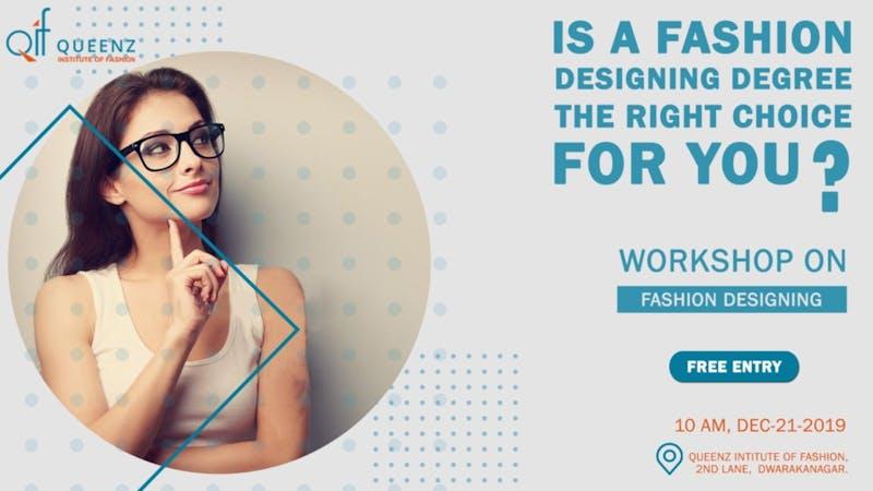 Free Fashion Designing Workshop Tickets By Ifs Consultants Saturday December 21 2019 Visakhapatnam Event