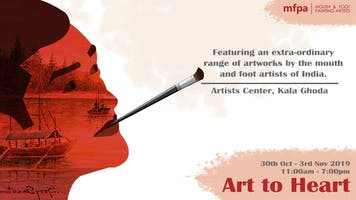 Imfpa Indian Mouth Foot Painting Artists Buy Online Tickets For Upcoming Events Townscript