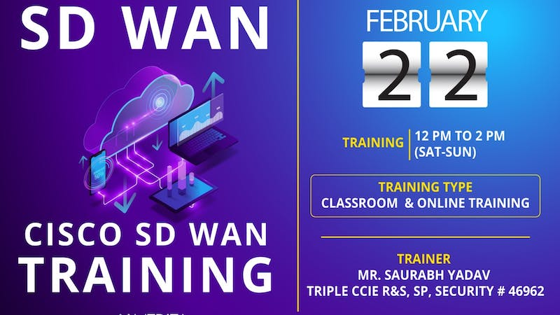 Cisco Sd Wan Training In Pune Tickets By I Medita Saturday February 22 2020 Pune Event