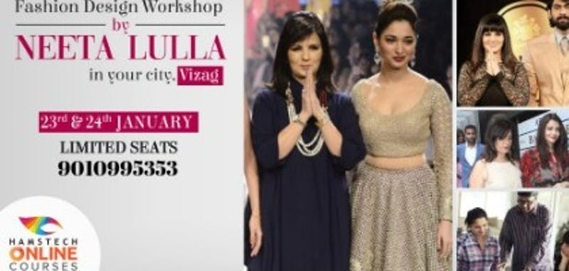 Free Fashion Design Workshop At Vizag Hamstech Online Courses Tickets By Advaithadasari Wednesday January 23 2019 Visakhapatnam Event